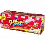 Danimals Creamy Straw-Banana 2.5 oz ea - 12ct Value pack  24 oz  24 oz