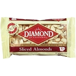 Diamond Almonds Sliced  6 OZ BAG