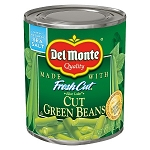 Del Monte Fresh Cut Green Beans Cut  8 oz