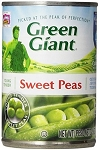 Green Giant Young Tender Sweet Peas  15.5 oz