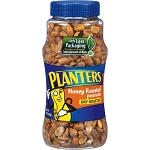 Planters Peanuts Honey Roasted  12 OZ CAN