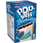 Kellogg's Pop-Tarts Frosted Blueberry 8 Count  14.7 OZ BOX