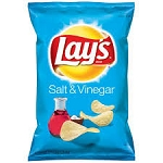 Lay's Potato Chips Salt & Vinegar  6.5 OZ BAG