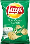 Lay's Potato Chips Sour Cream & Onion  6.5 OZ BAG