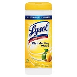 Lysol Sanitizing Wipes Citrus Scent  35 CT PKG