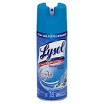 Lysol Spray Disinfectant Spring Waterfall  12 OZ CAN
