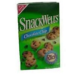 Nabisco Snackwells Cookies Chocolate Chip Bite Size  7.5 OZ BOX