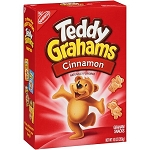 Nabisco Teddy Grahams Cinnamon  10 OZ BOX