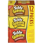 Nabisco Teddy Grahams Snack Packs (Chocolate Honey Cinnamon) - 12 ct  15 OZ PKG