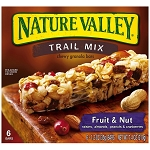 Nature Valley Trail Mix Bars Fruit & Nut - 6 ct  7.4 OZ BOX