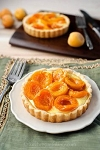 PEACH/APRICOT TART COMBO  2 pieces