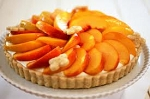 PEACH FRUIT TART LARGE  large