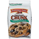 Pepperidge Farm Cookies Chesapeake Dark Chocolate Chunk Pecan  7.2 OZ BAG