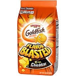 Pepperidge Farm Goldfish Crackers Flavor Blasted Xtra Cheddar  6.6 OZ BAG