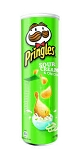 Pringles Potato Chips Sour Cream & Onion  4..2 OZ CAN