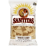 Santitas Corn Chips 100% White  10 OZ BAG