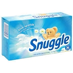 Snuggle Fabric Softener Cuddle Up Fresh  dryer sheets 80 CT BOX