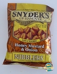 Snyder's Pretzels Nibblers Sourdough Honey Mustard & Onion  10 OZ BAG  10 OZ BAG