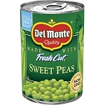 Del Monte Fresh Cut Sweet Peas  15 oz