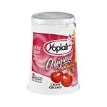 Yoplait Original Yogurt 99% Fat Free Cherry  6 OZ CUP