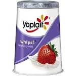 Yoplait Whips Yogurt Strawberry Mist  4 OZ CUP  4 OZ CUP