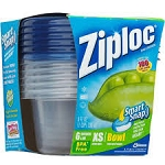 Ziploc Containers Single Servings  6 CT