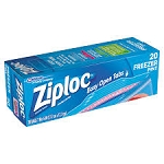 Ziploc Freezer Bags Pint  20 CT BOX