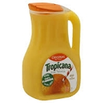 Tropicana Pure Premium Orange Juice Calcium (No Pulp)  96 OZ JUG  96 OZ JUG