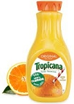 Tropicana Pure Premium Orange Juice Calcium (No Pulp)  64 OZ CTN  64 OZ CTN