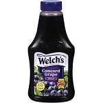 Welch's Concord Grape Jam Squeezable  22 OZ JAR